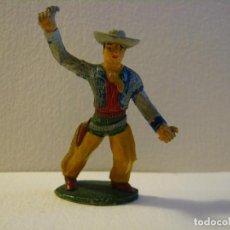 Figuras de Goma y PVC: VAQUERO SOTORRES GOMA AÑOS 50.. Lote 74972347