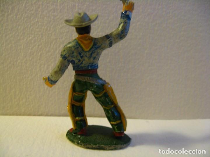 Figuras de Goma y PVC: VAQUERO SOTORRES GOMA AÑOS 50. - Foto 2 - 74972347