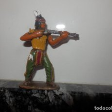 Figuras de Goma y PVC: FGURAS DE PVC OESTE VAQUEROS INDIOS DIORAMA . Lote 74987003