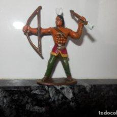 Figuras de Goma y PVC: FGURAS DE PVC OESTE VAQUEROS INDIOS DIORAMA . Lote 74987111