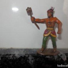 Figuras de Goma y PVC: FGURAS DE PVC OESTE VAQUEROS INDIOS DIORAMA . Lote 74987183