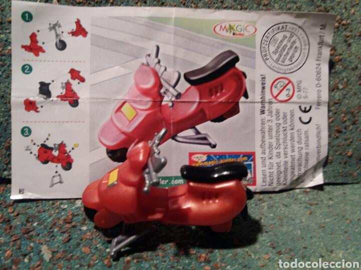 Figuras Kinder: Antigua Figura Moto Vespa . Kinder. - Foto 4 - 74991397