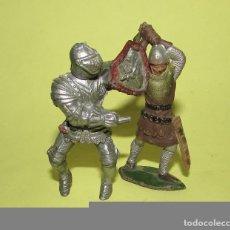 Figuras de Goma y PVC: REY ARTURO - DOS FIGURAS ANTIGUAS. Lote 75016795
