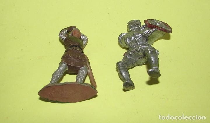 Figuras de Goma y PVC: REY ARTURO - DOS FIGURAS ANTIGUAS - Foto 2 - 75016795