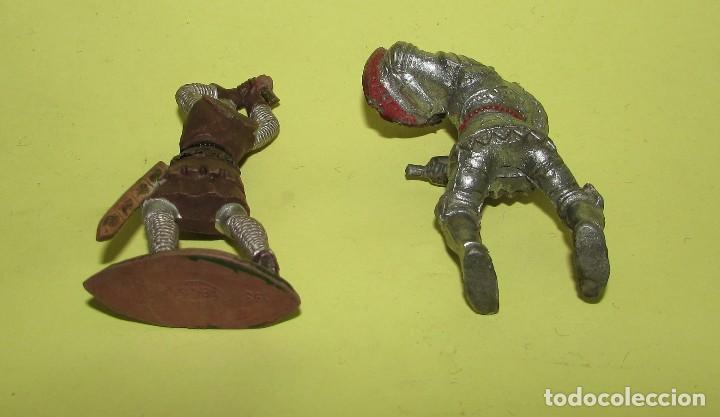 Figuras de Goma y PVC: REY ARTURO - DOS FIGURAS ANTIGUAS - Foto 3 - 75016795