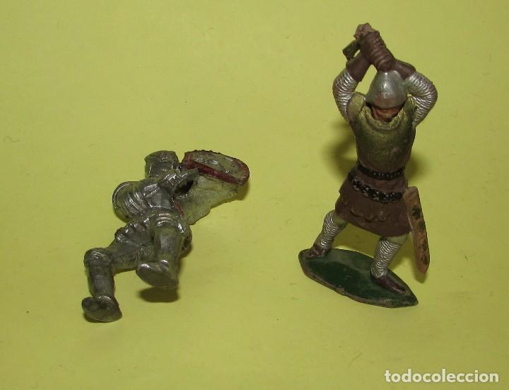Figuras de Goma y PVC: REY ARTURO - DOS FIGURAS ANTIGUAS - Foto 4 - 75016795