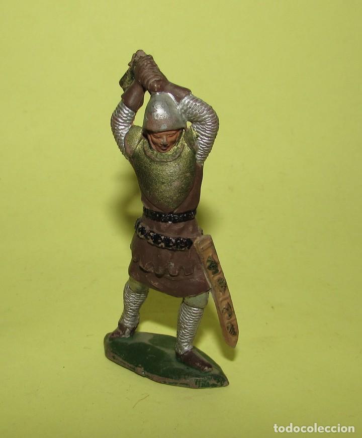 Figuras de Goma y PVC: REY ARTURO - DOS FIGURAS ANTIGUAS - Foto 5 - 75016795
