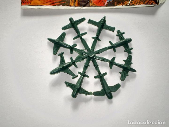 Figuras de Goma y PVC: SOBRE MONTAPLEX - HOBBY PLAST Nº 1001/c - RAID SOBRE BERLIN - VACÍO + COLADA DE MIN IAVIONES - Foto 3 - 75044775
