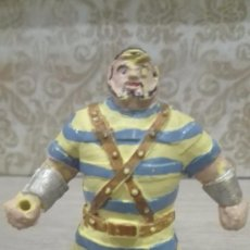 Figuras de Goma y PVC: FIGURA GOLIAT CAPITAN TRUENO ESTEREOPLASTJIN AÑOS 50. Lote 75044911