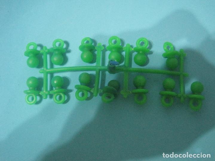 MONTAPLEX- COLADA CHUPETES- FABRICADO POR EJUSA-AÑOS 80-RARO!!!! (Juguetes - Figuras de Goma y Pvc - Montaplex)