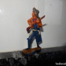Figuras de Goma y PVC: ANTIGUA FIGURA DE GOMA GAMA VAQUERO OESTE. Lote 75311755
