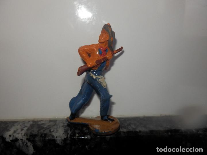 Figuras de Goma y PVC: ANTIGUA FIGURA DE GOMA GAMA VAQUERO OESTE - Foto 2 - 75311755