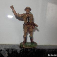 Figuras de Goma y PVC: ANTIGUA FIGURA DE GOMA PECH GUERRA MUNDIAL BRITANICOS JECSAN. Lote 191815746