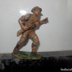 Figuras de Goma y PVC: ANTIGUA FIGURA DE GOMA PECH GUERRA MUNDIAL BRITANICOS JECSAN. Lote 75312399