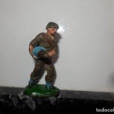 Figuras de Goma y PVC: ANTIGUA FIGURA DE GOMA PECH GUERRA MUNDIAL SERVIDOR JECSAN. Lote 75312579