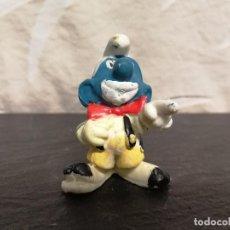 Figuras de Goma y PVC: FIGURA PVC PITUFO PAYASO. Lote 75541803