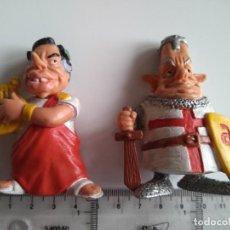 Figuras de Goma y PVC: ANTIGUAS FIGURAS CARICATURAS DE FRAGA Y FELIPE GONZÁLEZ. GALLEGO Y REY. STAR TOYS. Lote 75593115