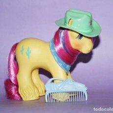Figuras de Goma y PVC: MI PEQUEÑO PONY AÑO 1987 PATAS PELUDAS UNA PRECIOSIDAD!!!! MUY DIFICIL!!. Lote 75620555