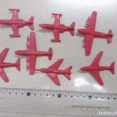 Figuras de Goma y PVC: LOTE DE AVIONES MONTAPLEX (AÑOS 70-80). Lote 75696443