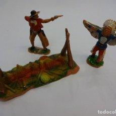 Figuras de Goma y PVC: LOTE 3 FIGURAS OESTE REAMSA. Lote 75723219