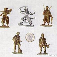 Figuras de Goma y PVC: FIGURAS DE PLÁSTICO - SOLDADOS DEL MUNDO - PHOSKITOS / PANRICO / KELLOGGS. Lote 75753895