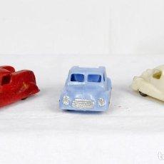 Figuras de Goma y PVC: CAPELL- TRES CAMIONES AÑOS 50. Lote 131467691