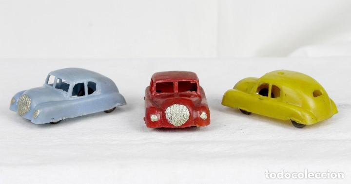 ALCA CAPELL TRES AUTOS AÑOS 50 (Juguetes - Figuras de Goma y Pvc - Capell)