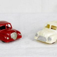 Figuras de Goma y PVC: CAPELL AUTO Y CAMIÓN AÑOS 50. Lote 75759031