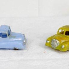 Figuras de Goma y PVC: CAPELL AUTO Y CAMIÓN AÑOS 50. Lote 75759035