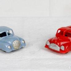 Figuras de Goma y PVC: CAPELL AUTO Y CAMIÓN AÑOS 50. Lote 75759047