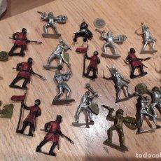 Figuras de Goma y PVC: FIGURAS MEDIEVALES SIN MARCA .. Lote 75891563