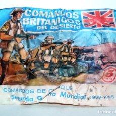 Figuras de Goma y PVC: SOBRE MONTAPLEX ORIGINAL COMANDOS BRITANICOS SERIE GRUPOS DE COMBATE SEGUNDA GUERRA MUNDIAL 2WW. Lote 235608815