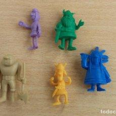 Figuras de Goma y PVC: ANTIGUAS FIGURAS DUNKIN ORIGINALES AÑOS 70 LOTE 3. Lote 75917635