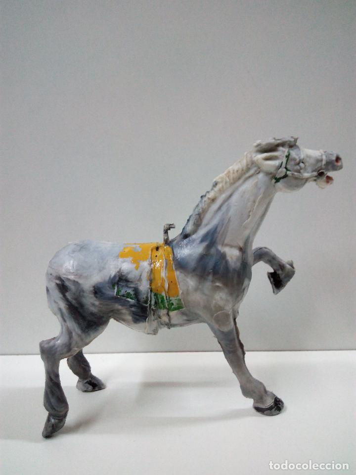 Figuras de Goma y PVC: PRECIOSO CABALLO . REALIZADO POR ESTEREOPLAST . AÑOS 50 / 60 - Foto 2 - 75924883