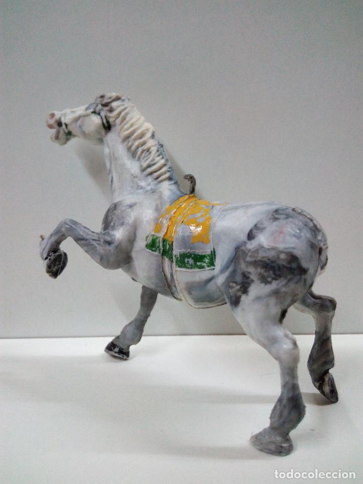 Figuras de Goma y PVC: PRECIOSO CABALLO . REALIZADO POR ESTEREOPLAST . AÑOS 50 / 60 - Foto 3 - 75924883