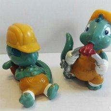 Figuras Kinder: LOTE FIGURAS DINOSAURIO KINDER. Lote 75924979