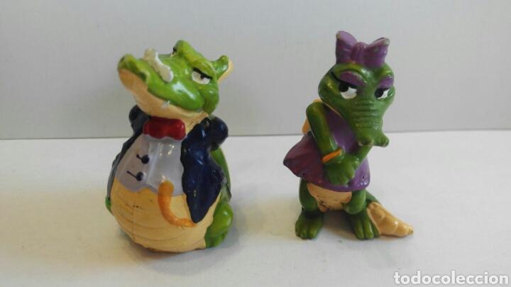 LOTE FIGURAS COCODRILO KINDER (Juguetes - Figuras de Gomas y Pvc - Kinder)