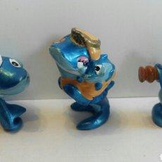 Figuras Kinder: LOTE FIGURAS TIBURON KINDER. Lote 75925629