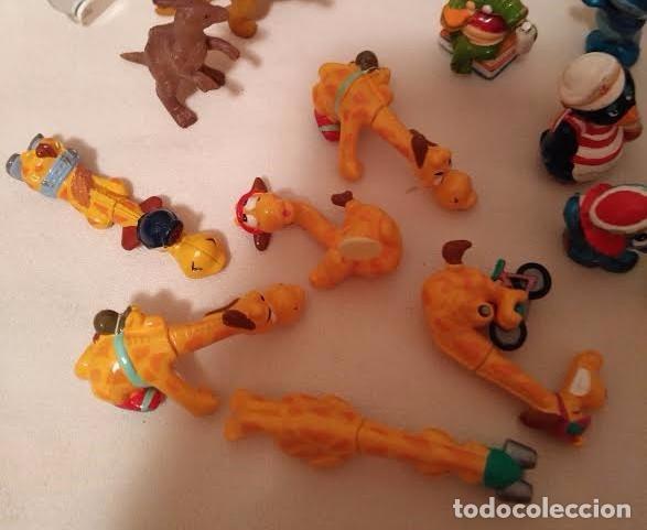 Figuras Kinder: Vintage - Lote de 78 figuras / figuritas de huevos sorpresa Kinder - Años 80/90 - Foto 3 - 75937027