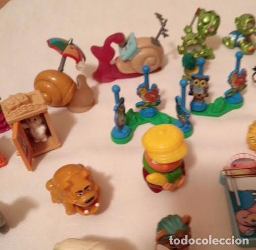 Figuras Kinder: Vintage - Lote de 78 figuras / figuritas de huevos sorpresa Kinder - Años 80/90 - Foto 4 - 75937027