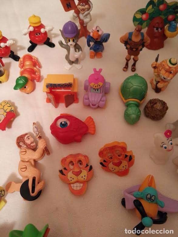 Figuras Kinder: Vintage - Lote de 78 figuras / figuritas de huevos sorpresa Kinder - Años 80/90 - Foto 5 - 75937027