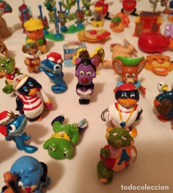 Figuras Kinder: Vintage - Lote de 78 figuras / figuritas de huevos sorpresa Kinder - Años 80/90 - Foto 7 - 75937027