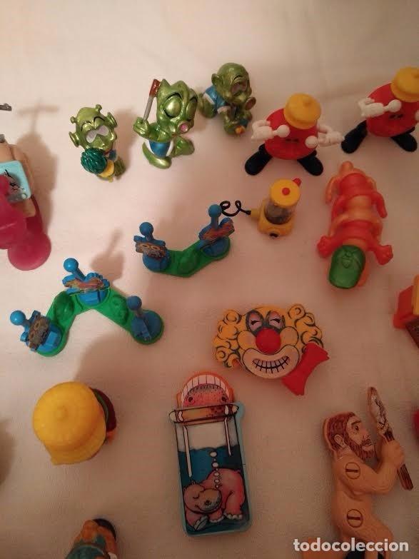 Figuras Kinder: Vintage - Lote de 78 figuras / figuritas de huevos sorpresa Kinder - Años 80/90 - Foto 8 - 75937027