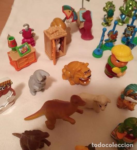 Figuras Kinder: Vintage - Lote de 78 figuras / figuritas de huevos sorpresa Kinder - Años 80/90 - Foto 9 - 75937027