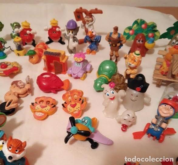 Figuras Kinder: Vintage - Lote de 78 figuras / figuritas de huevos sorpresa Kinder - Años 80/90 - Foto 11 - 75937027