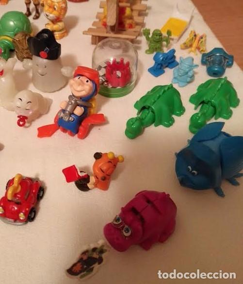 Figuras Kinder: Vintage - Lote de 78 figuras / figuritas de huevos sorpresa Kinder - Años 80/90 - Foto 12 - 75937027