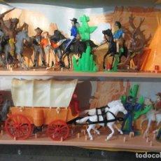 Figuras de Goma y PVC: CAJA COMANSI OESTE. Lote 113179395