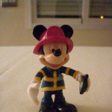 Figuras de Goma y PVC: FIGURA MICKEY MOUSE BOMBERO. DISNEY 7,5 CM . Lote 76033839