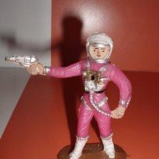 Figuras de Goma y PVC: FIGURA ASTRONAUTA Nº2021 COMANSI SERIE OVNI. Lote 76080007