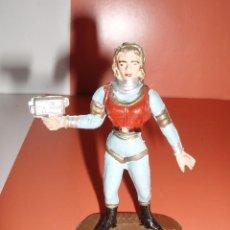 Figuras de Goma y PVC: FIGURA ASTRONAUTA Nº2022 COMANSI SERIE OVNI. Lote 76080059
